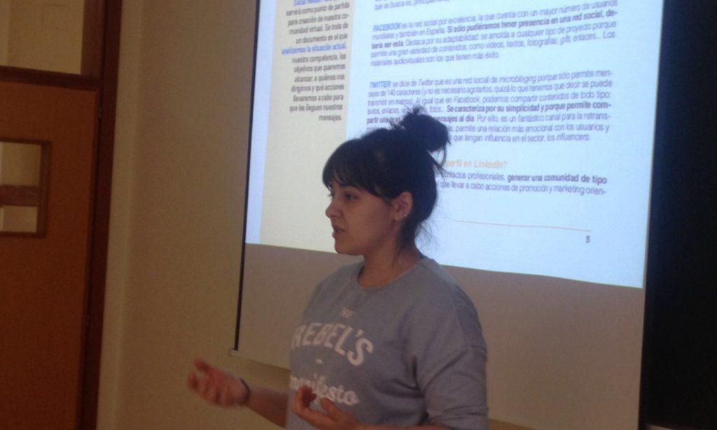 Jornada formativa 'Técnicas y contenidos en la Comunicación cultural y social a través de las Redes Sociales'