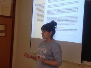 Iris Vázquez de Cultura y Comunicación