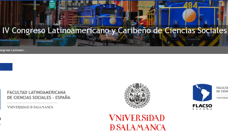 Call for papers para el  simposio: Género y trabajo académico: experiencias, ejes epistemológicos y políticas institucionales, IV Congreso Latinoamericano y Caribeño de Ciencias Sociales  (Plazo: 30 de noviembre de 2016)