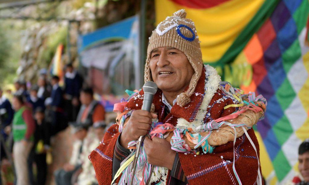 """El incómodo caso boliviano: """"La hegemonía que trata de construir Morales choca con lo heterogéneo de su sociedad"""", por Manuel Alcántara"""