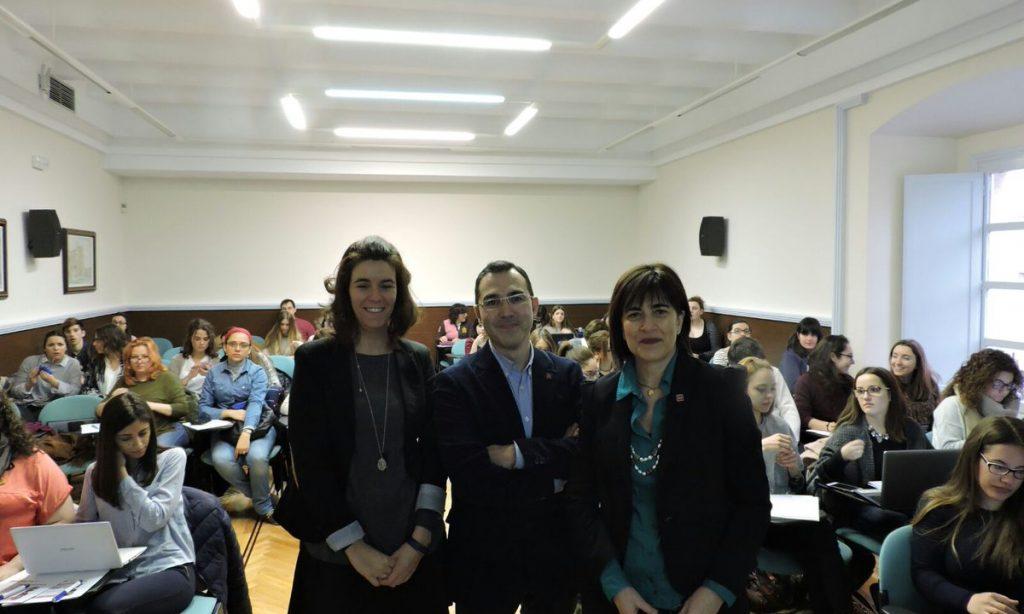 Curso sobre Empleo y Discapacidad, y Taller de Entrevistas y Dinámicas de Grupo,  en los que participa como ponente nuestra Vicedecana del Colegio, Inés Moya de la Calle, organizados por el Plan de empleabilidad de Universidad de Valladolid.