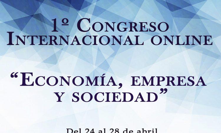 I Congreso Internacional online sobre Economía, Empresa y Sociedad, del 24 al 28 de abril, organizado por Editorial 3Ciencias y con la colaboración de la Universidad de Alicante, con un 10% de descuento a los colegiados/as de COPYSCYL