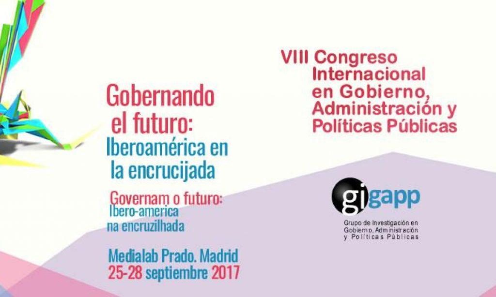 El Colegio promociona como Media Partners el Congreso Internacional en Gobierno Administración y Políticas Públicas (GIGAPP): Gobernando el futuro: Iberoamérica en la encrucijada