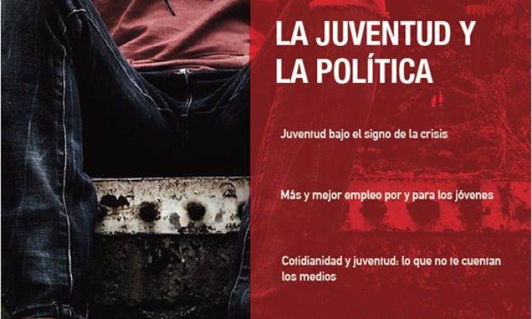 """Artículo: """"Juventud bajo el signo de la crisis"""", por nuestro colegiado Francisco Ramos Antón, publicado en la Revista Argumentos Socialistas Nº22,  La juventud y la política."""