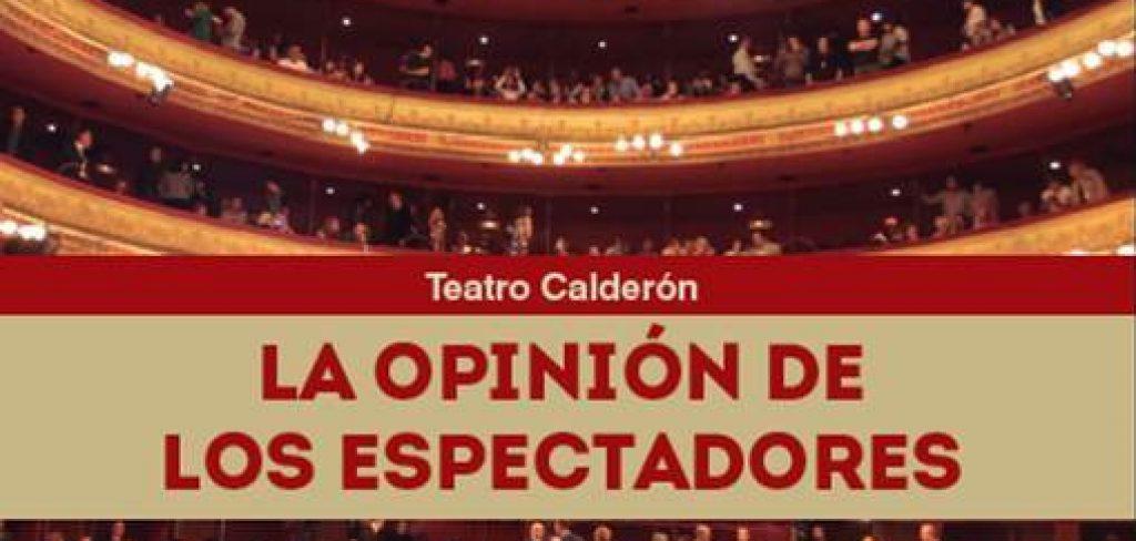 """Publicación del libro """"El Teatro Calderón. La opinión de los espectadores"""", por nuestro colegiado y anterior Decano Gerardo García Álvarez"""