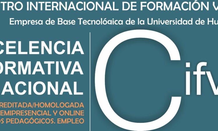 Oferta Formativa (Cursos Internacionales Online Certificados y Acreditados del Centro Internacional de Formación Virtual. Empresa de Base Tecnológica (Spin-Off) de la Universidad de Huelva con descuento para los/as colegiados/as de Copyscyl, mayo 2018