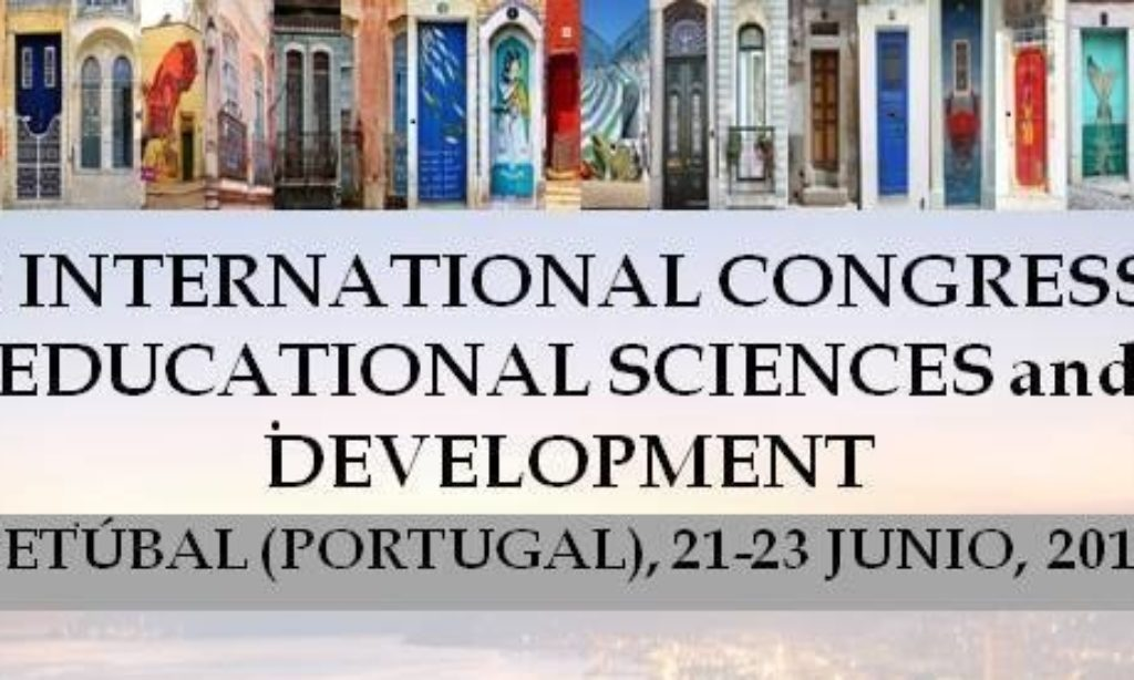 6th INTERNATIONAL CONGRESS of EDUCATIONAL SCIENCES and DEVELOPMENT, en SETÚBAL (PORTUGAL) del 21 al 23 JUNIO, 2018, con descuento para los colegiados/as de Copyscyl