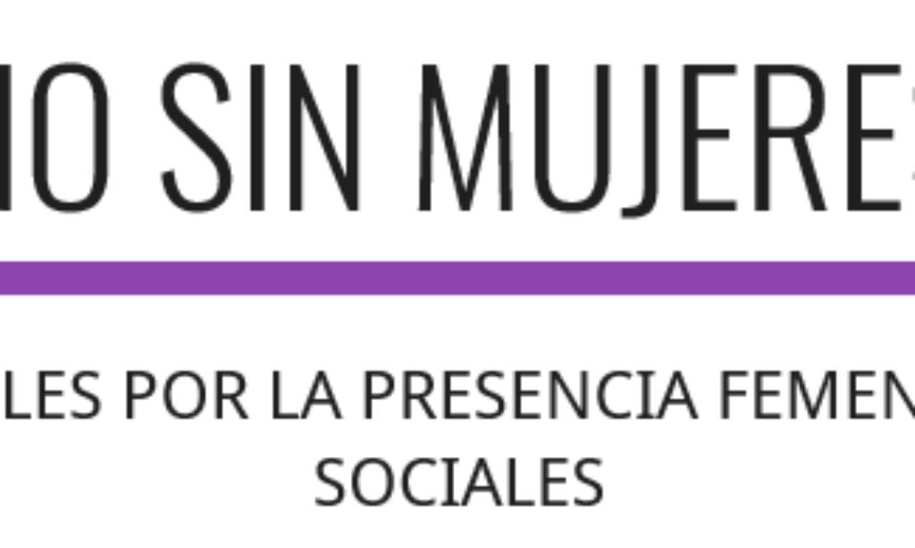"""El Colegio se suma a la campaña: """"NO SIN MUJERES"""", ACADÉMICOS ESPAÑOLES POR LA PRESENCIA FEMENINA EN LAS CIENCIAS SOCIALES"""