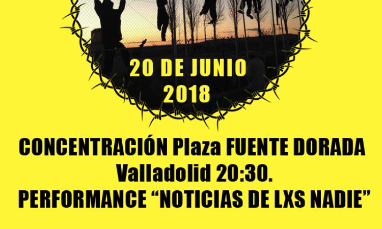 Concentración el próximo 20 de junio, día mundial de las personas refugiadas y migrantes a las 20:30 en la Plaza Fuente Dorada, y presentación de la III edición de Caravana Abriendo fronteras 2018 que este año se va a Italia.