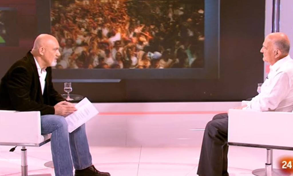 Nuestro colegiado Manuel Alcántara es entrevistado el Canal 24 Horas de TVE sobre los últimos acontecimientos en Brasil y Nicaragua