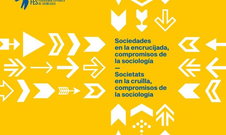 """XIII edición del Congreso Español de Sociología, que tendrá lugar del 3 al 6 de Julio de 2019 en Valencia con el lema: """"Sociedades en la encrucijada, compromisos de la sociología""""."""