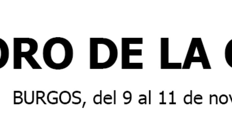 Foro de la Cultura, 9 y 11 de noviembre de 2018, Burgos