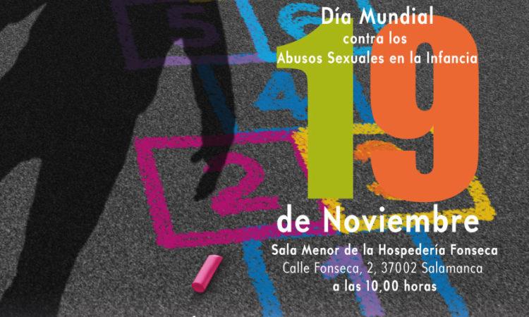 Invitación a los/as colegiados/as de Copyscyl a la Jornada INFANCIAS ROTAS, sobre abusos sexuales en la infancia, lunes 19 de noviembre.