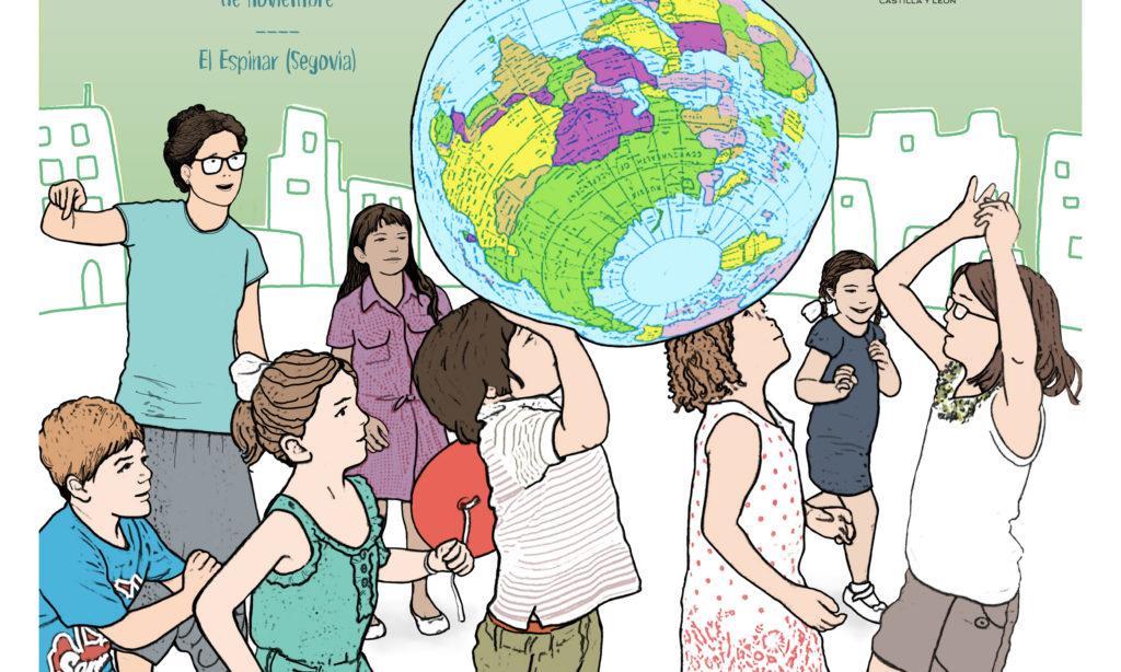 """Encuentro """"Docentes por el desarrollo"""",  sobre desarrollo, sostenibilidad, y la ciudadanía global, organizado por la Junta de Castilla y León, 16, 17 y 18 de noviembre en el Espinar (Segovia), con alojamiento y manutención"""