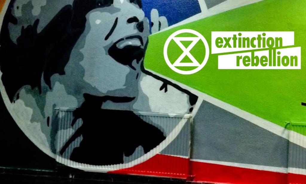 Nos sumamos en el estado español a la rebelión internacional no violenta contra la extinción de especies y la crisis ecológica