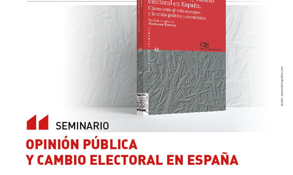 SEMINARIO: Opinión pública y cambio electoral en España, Universidad de Salamanca (6 de marzo de 2019)