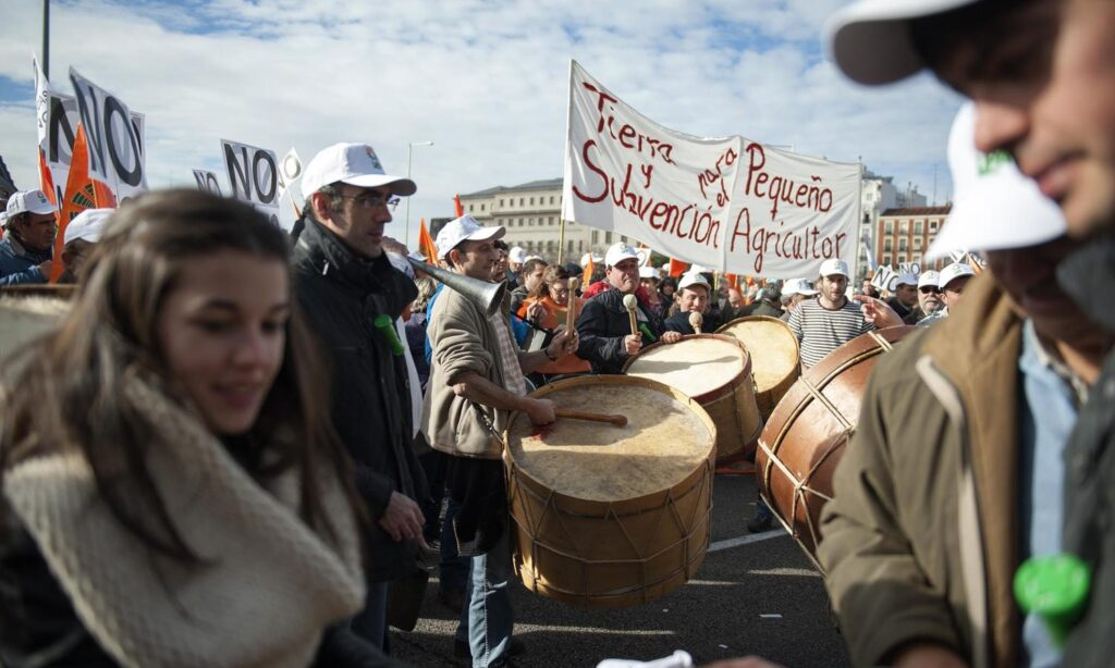 Artículo: La 'España vaciada' lleva su revuelta a la gran urbe, por Pablo Rivas, publicado en El Salto el 27 de marzo de 2019