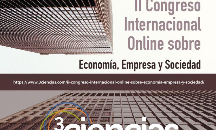 II Congreso Internacional Online sobre Economía, Empresa y Sociedad con descuento para los/as colegiados/as de Copyscyl (del 28 al 31 de octubre de 2019)