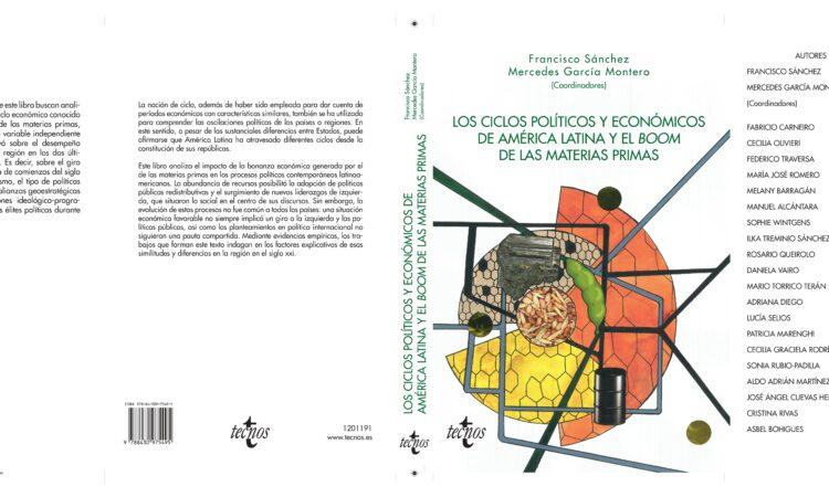 """Publicación del libro: """"Los ciclos políticos y económicos de América Latina y el Boom de las materias primas"""", en el que participa nuestro colegiado Manuel Alcántara entre otros académicos de las ciencias políticas"""