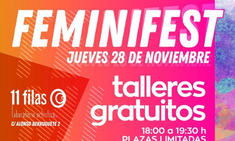 Feminifest, talleres gratuitos (Valladolid) (Fecha: 28 de noviembre de 2019) (Plazo inscripciones: 26 noviembre)