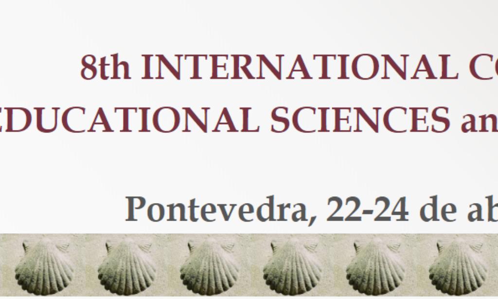 8th INTERNATIONAL CONGRESS of EDUCATIONAL SCIENCES and DEVELOPMENT que se realizará del 22 al 24 de abril de 2020 en Pontevedra (España), con cuota de inscripción reducida para los/as colegiados/as de Copyscyl