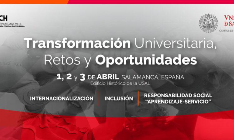 """6º Congreso Internacional de Investigación Educativa USAL-PALECH """"CLIE 2020"""" que se celebrará en la Universidad de Salamanca (España) los días 1, 2 y 3 de abril de 2020."""