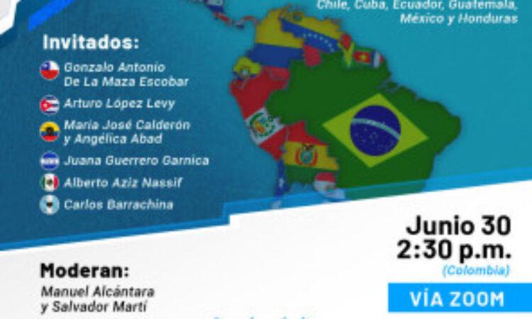 Seminario Virtual: «Democracia y salud en América Latina». (Fecha: 30 de junio)