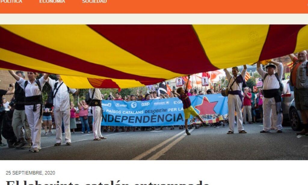 Artículo: «El laberinto catalán entrampado» por nuestro colegiado Manuel Alcántara, publicado en Latinoamérica 21 el día 25 de septiembre de 2020