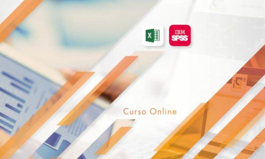 """Nueva edición del Curso Online """"Estadística Descriptiva con Excel y SPSS″ de la Fundación iS+D, con descuento para los/as colegiados/as de Copyscyl (Fecha: acceso inmediato una vez realizada la matrícula)"""