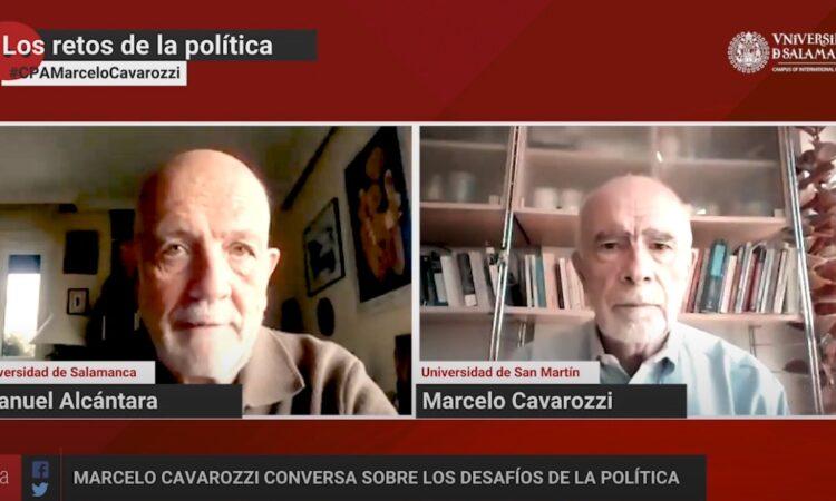 «Los retos de la política», con Manuel Alcántara. Programa 1×02