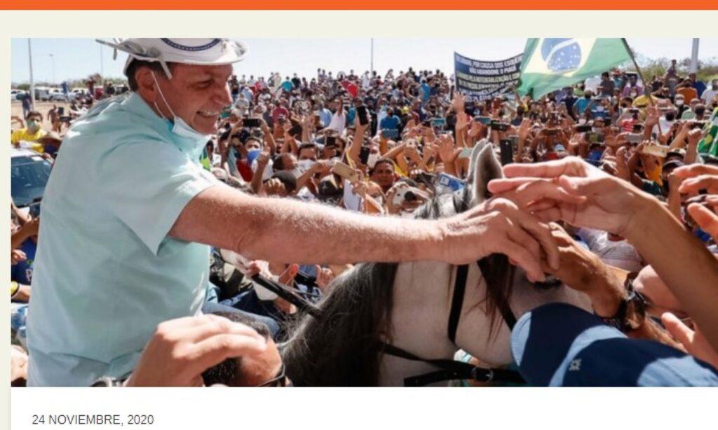 Artículo: «Caudillos más que líderes» por nuestro colegiado Manuel Alcántara, publicado en Latinoamérica 21 el día 24 de noviembre de 2020