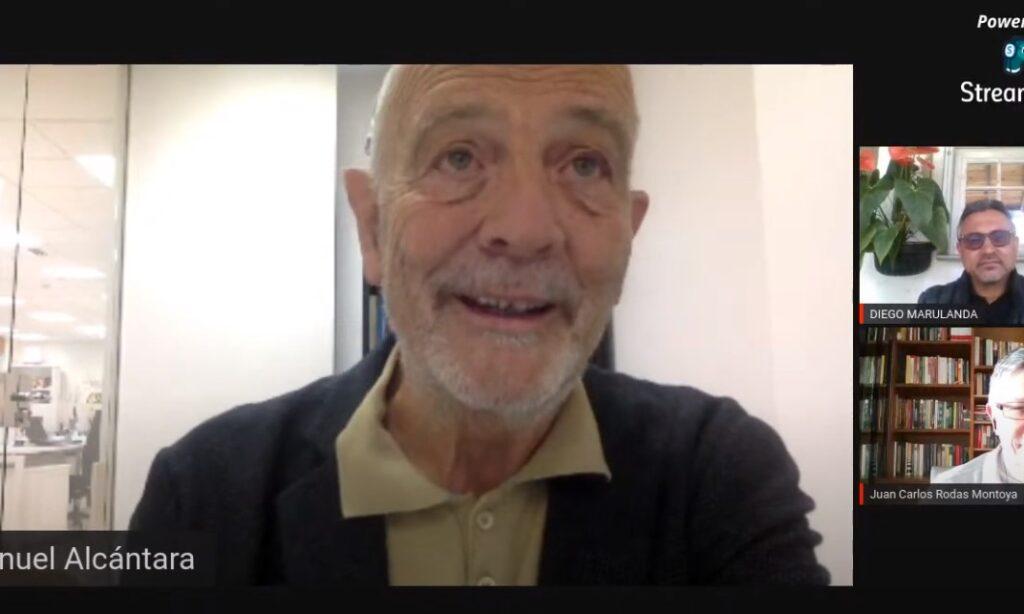 Conversatorio: La universidad y las lecciones aprendidas durante la pandemia, con la intervención de nuestro colegiado Manuel Alcántara