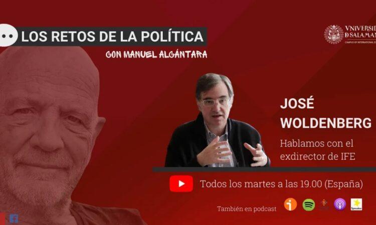 «Los retos de la política», con Manuel Alcántara. Programa 1×03 (Fecha: 1 de diciembre de 2020)