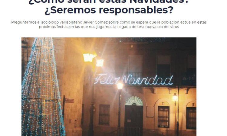 Intervención de nuestro Decano en el programa «Hoy por hoy Peñafiel», de Radio Peñafiel, el día 3 de diciembre de 2020