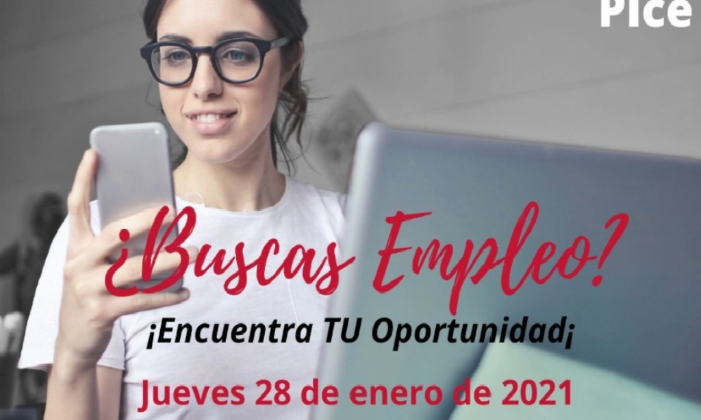 I Feria Virtual del empleo y el emprendimiento PICE (Fecha: 28 de enero de 2021)