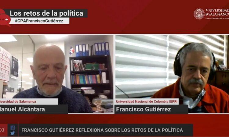 «Los retos de la política», con Manuel Alcántara. Programa 1×07 (Fecha: 11 de febrero de 2021)