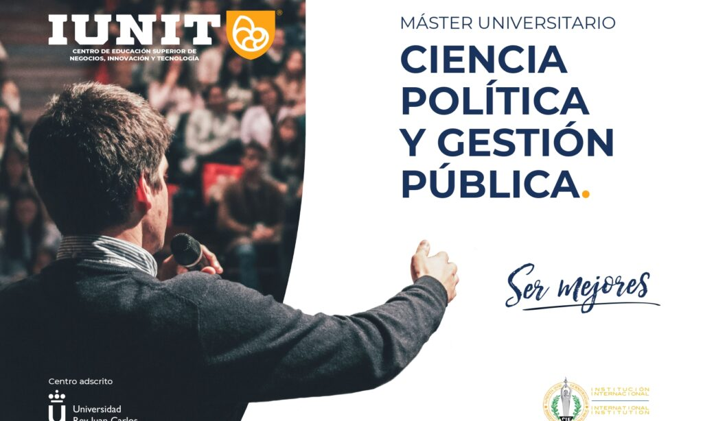 «Máster Universitario en Ciencia Política y Gestión Pública», con descuentos para colegiados/as de Copyscyl. Modalidad Online (Fecha inicio: octubre de 2021)