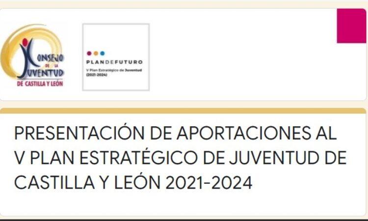 Cuestionario para elaborar del V Plan Estratégico de Juventud de Castilla y León para los años 2021-2024 (Plazo: 30 de abril de 2021)