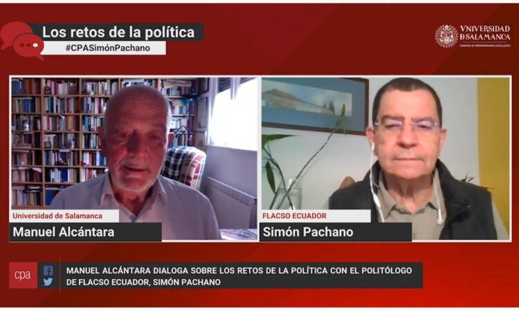 «Los retos de la política», con Manuel Alcántara. Programa 1×12 (Fecha: 21 de abril de 2021)