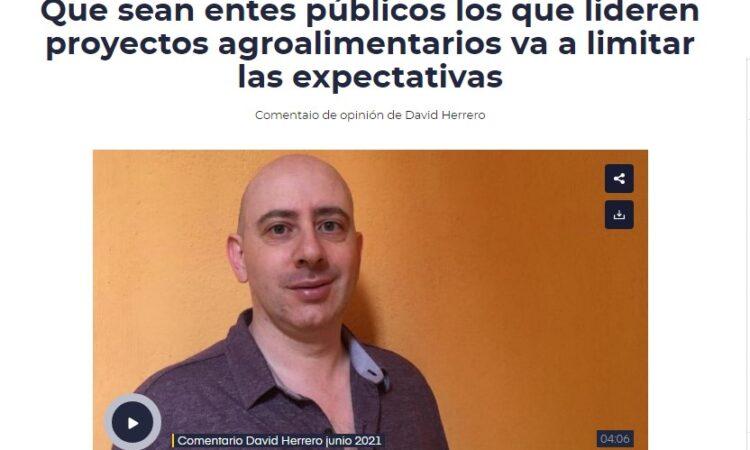 Comentario de opinión de David Herrero sobre la actualidad abulense de junio en SER Ávila