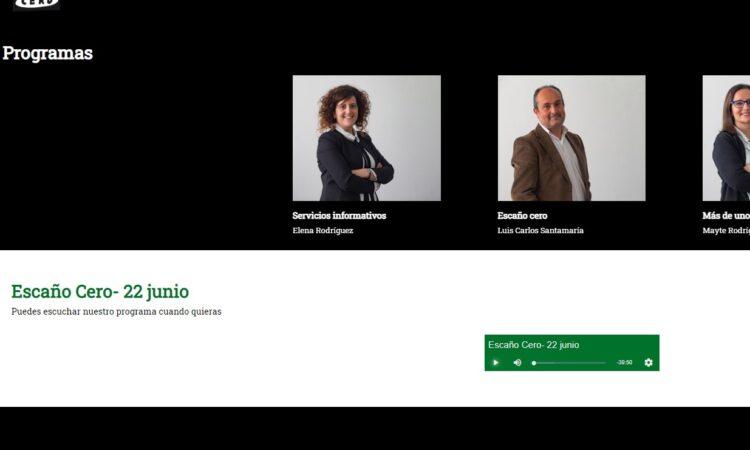 Colaboración de David Herrero Muñoz en la tertulia de análisis de actualidad política y social de Ávila, «Escaño Cero», en Onda Cero Ávila, el día 22 de junio de 2021