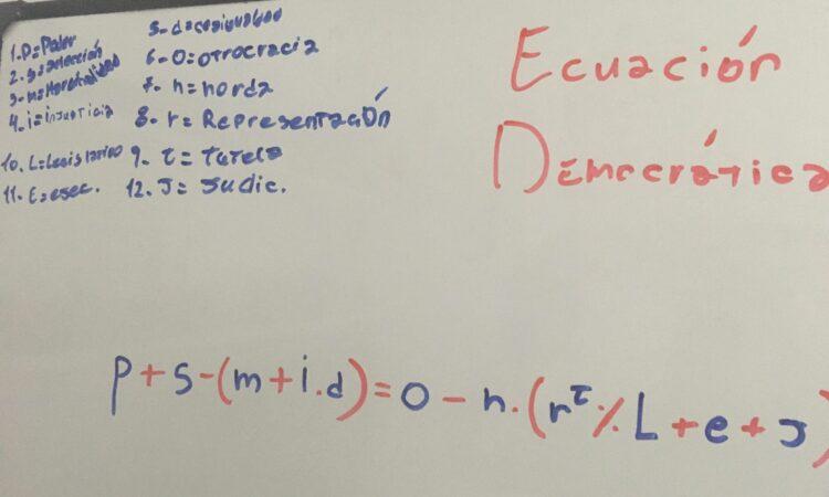 Artículo: «Ecuación democrática », por Francisco Tomás González Cabañas, publicado en Liverdades el día 6 de septiembre de 2021