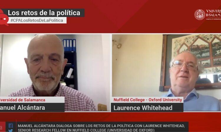 Así comenzó la nueva temporada de «Los retos de la política», el programa del Área de Ciencia Política – USAL en el que Manuel Alcántara conversa con diferentes especialistas